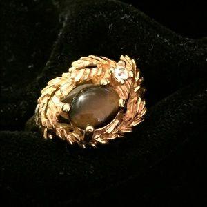 18KGE Gorgeous Tiger Eye Ring